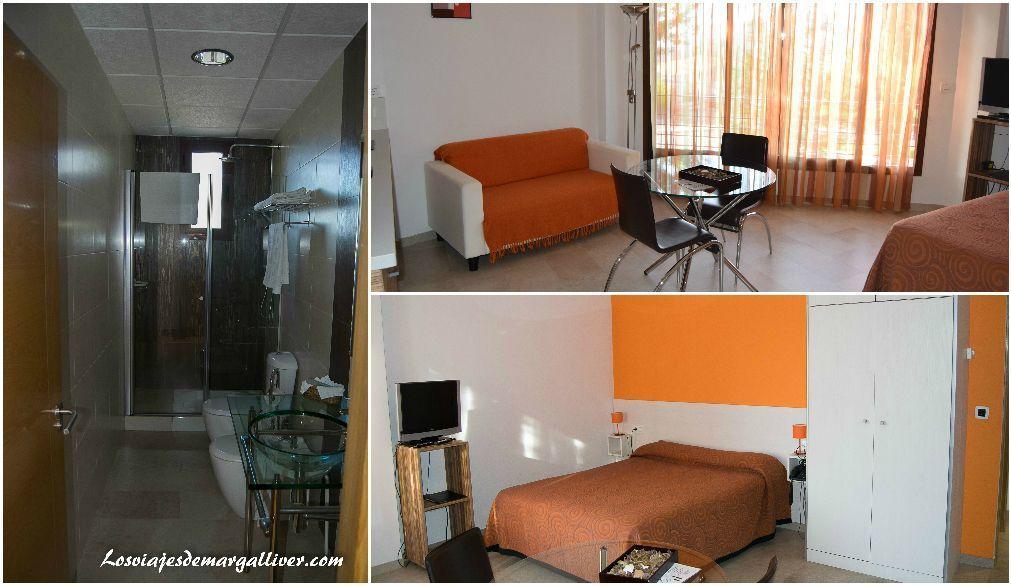 Habitación de los apartamentos Llave de Granada en Alcalá la Real - Los viajes de Margalliver